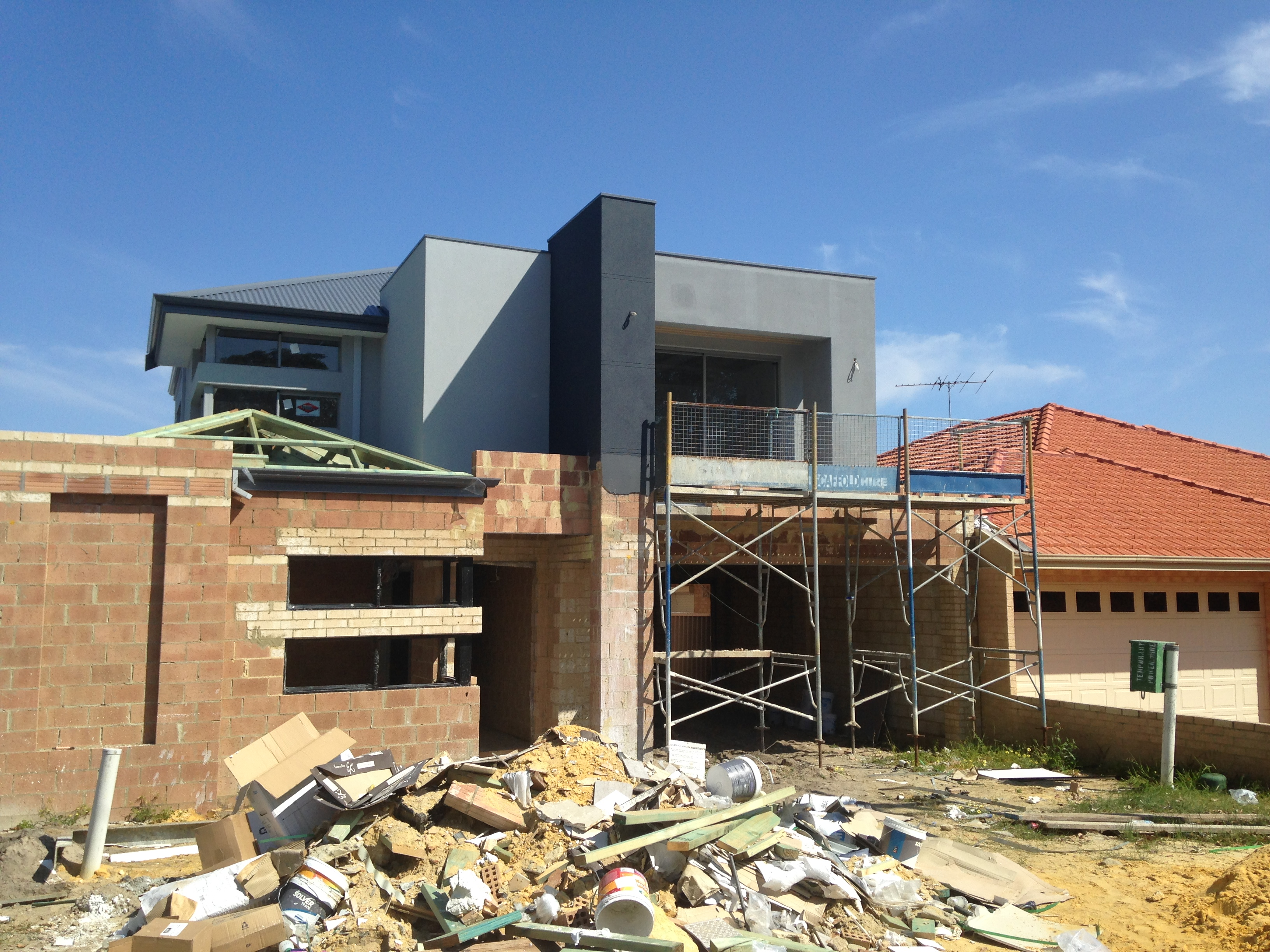Gallery mjn for Home construction process